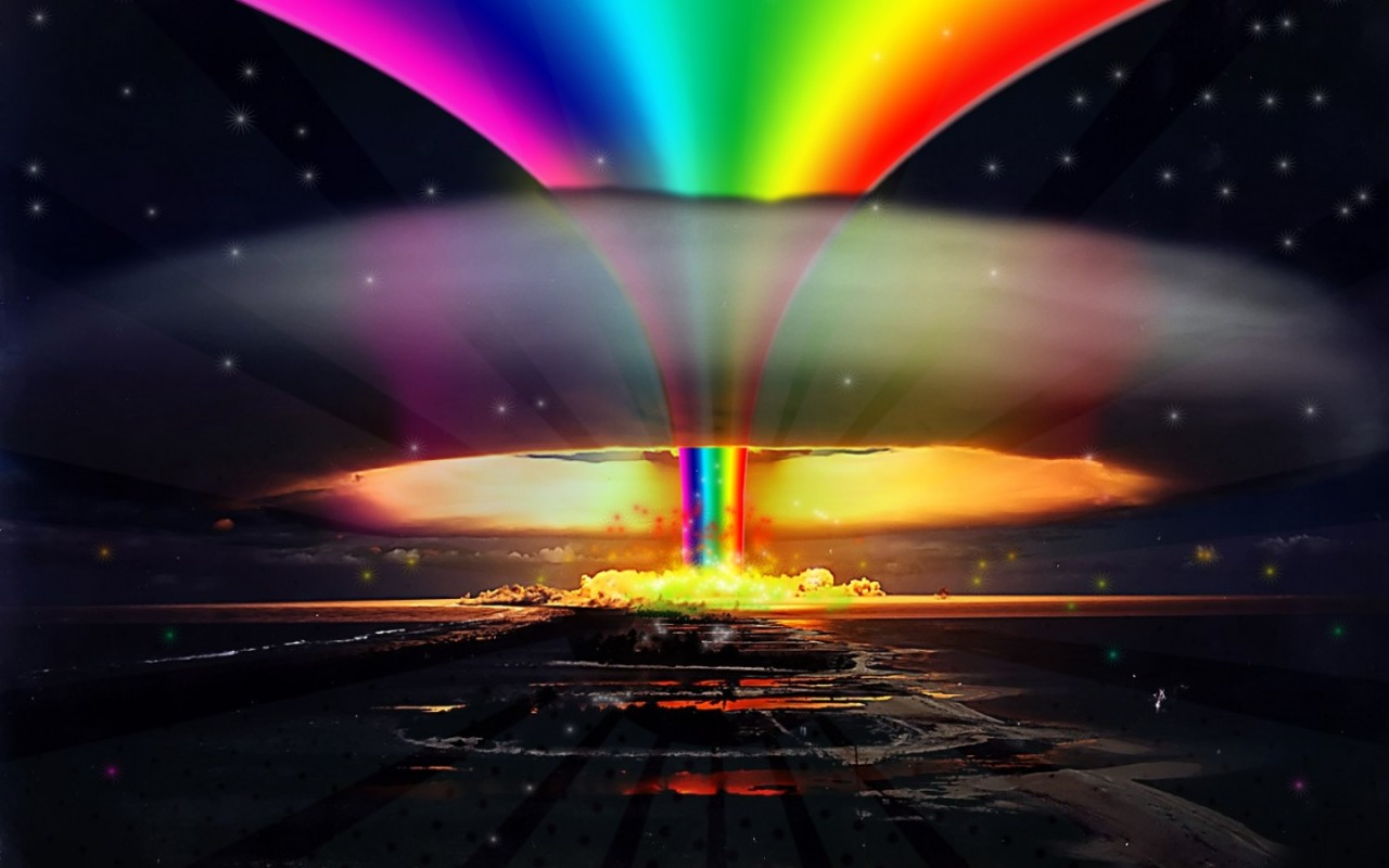 Nuclear explosion Desktop wallpapers 1280x800 1280x800