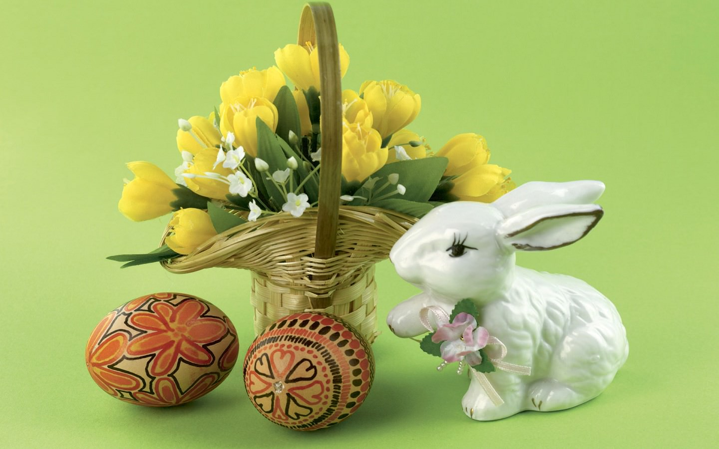 30 Easter Bunny Wallpapers Backgrounds Images 1440x900