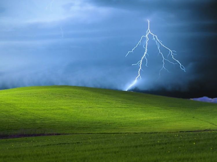 The Origin of The Microsofts Windows XP Default Wallpaper 750x562