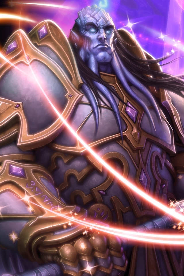 World Of Warcraft HD Wallpaper for iphone 4iphone 4S   Download 640x960