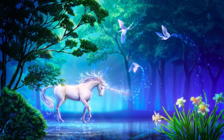 Unicorn Horse Greek Mythology HD Wallpaper Desktop Background 736x459