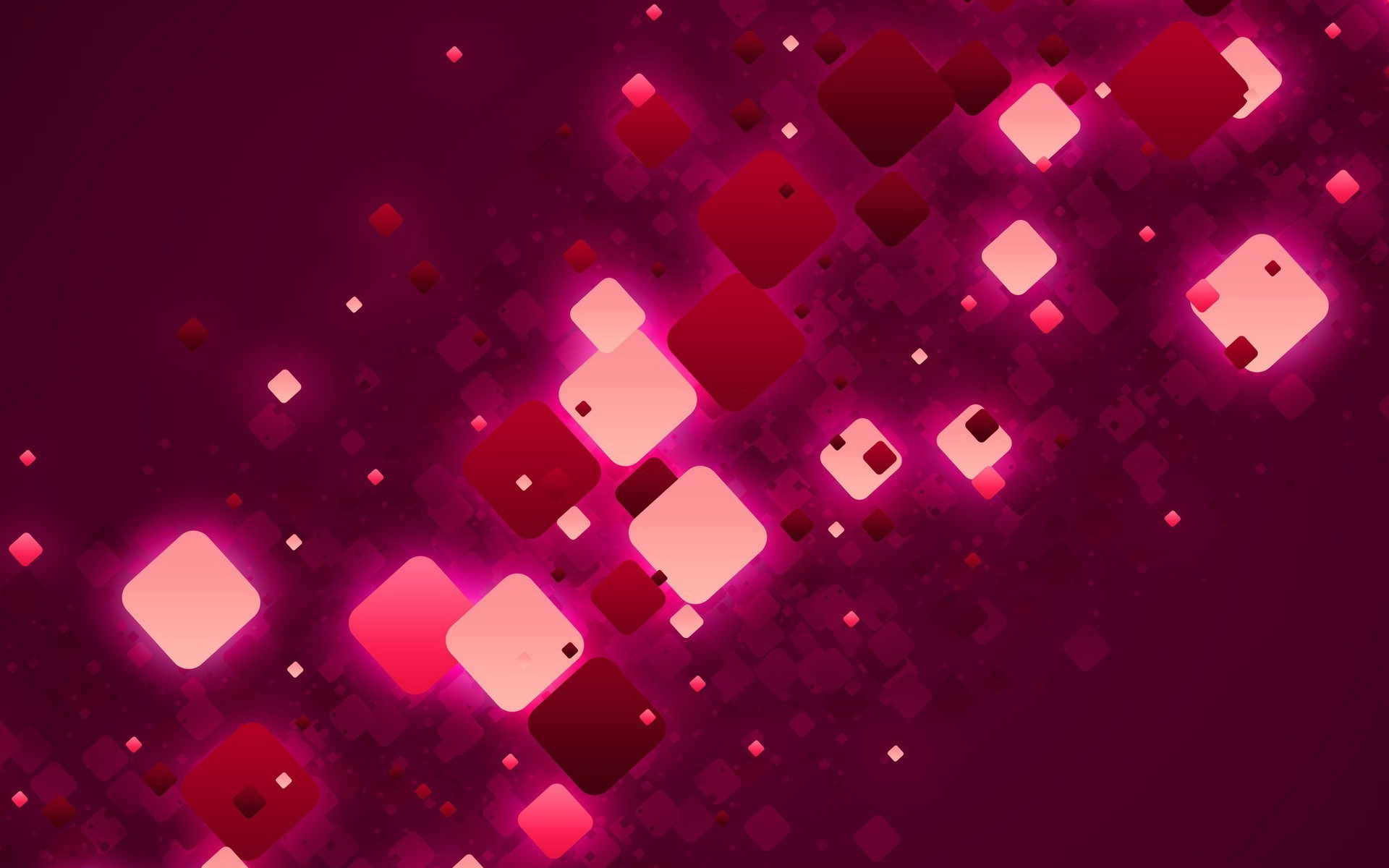 Red And Pink Squares Abstract Hd Wallpaper   Pink Wallpaper Full 1920x1200