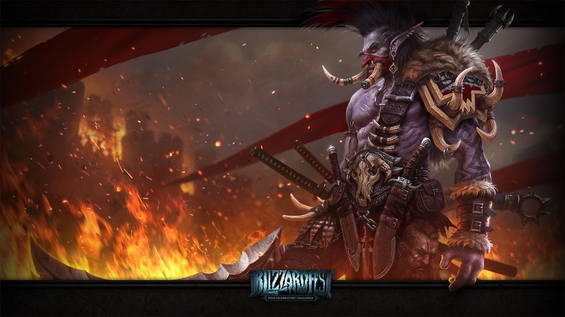 World Of Warcraft Wallpaper 1920x1080: WOW Troll Wallpaper
