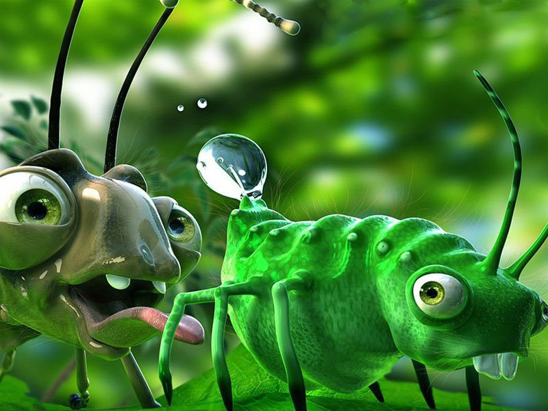 49 funny 3d animated desktop wallpaper on wallpapersafari - 3d animation wallpaper download ...