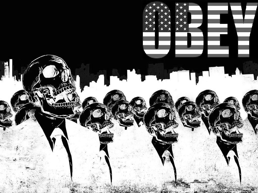 obey wallpaper Wallpaper 1024x768