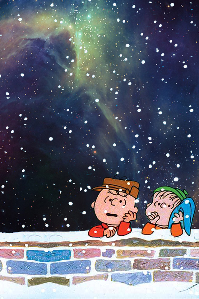 Christmas Iphone Wallpaper Tumblr Charlie Brown 640x960