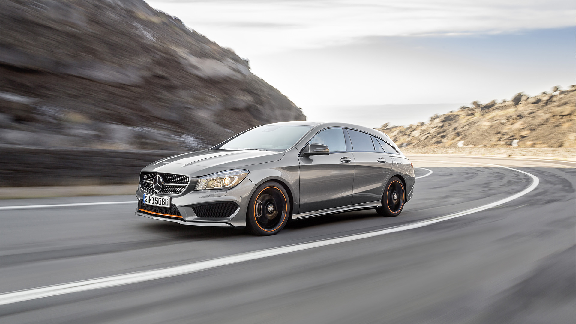 2016 Mercedes Benz CLA Shooting Brake Wallpapers HD Images 1920x1080