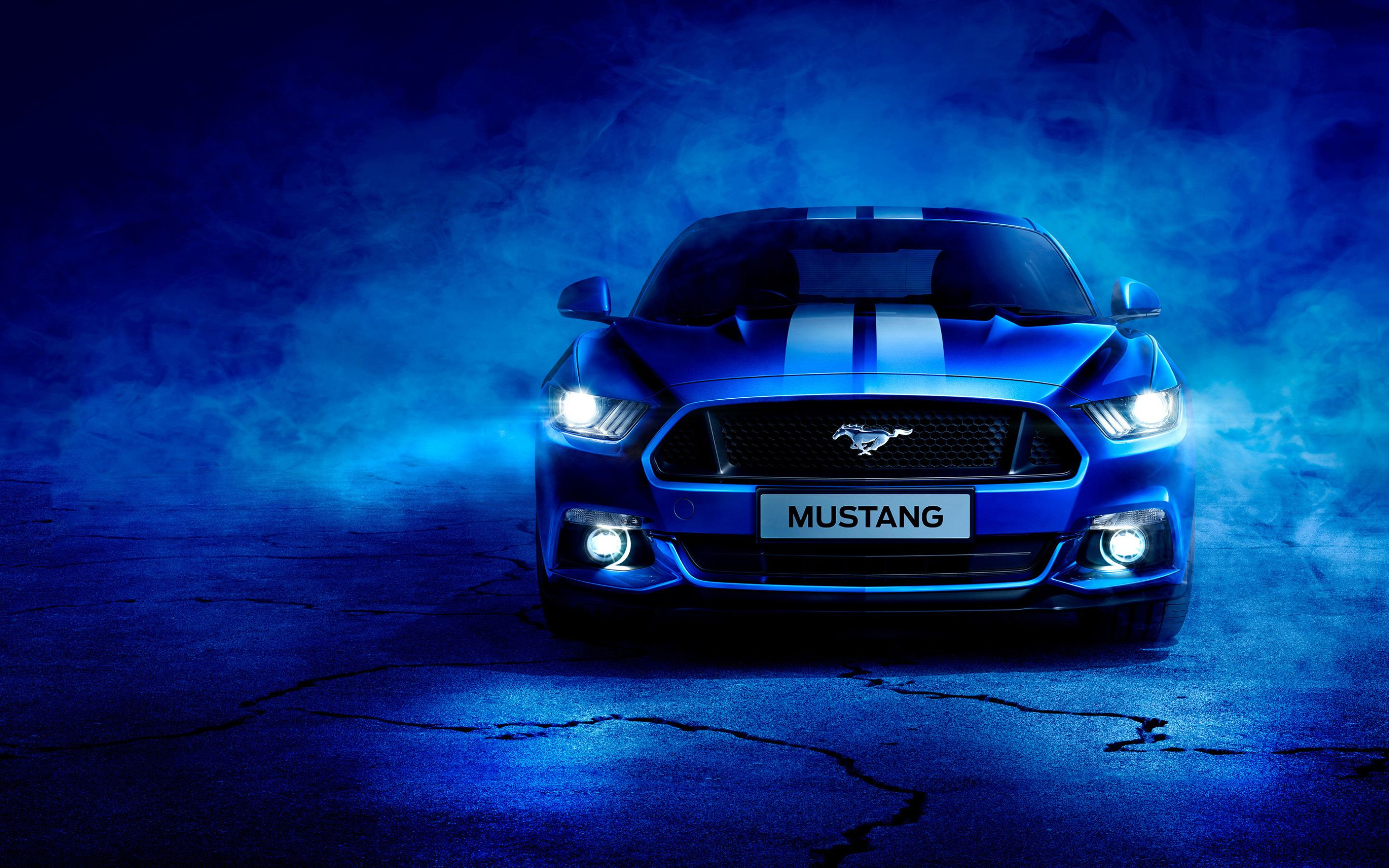 Blue Mustang Wallpapers   Top Blue Mustang Backgrounds 2880x1800