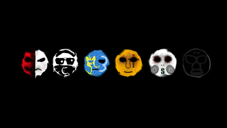 2013 Hollywood Undead Masks by YannickUndead 900x506