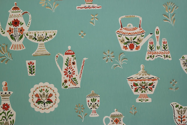 Rosies Vintage Wallpaper History of Kitchen Wallpaper 640x427