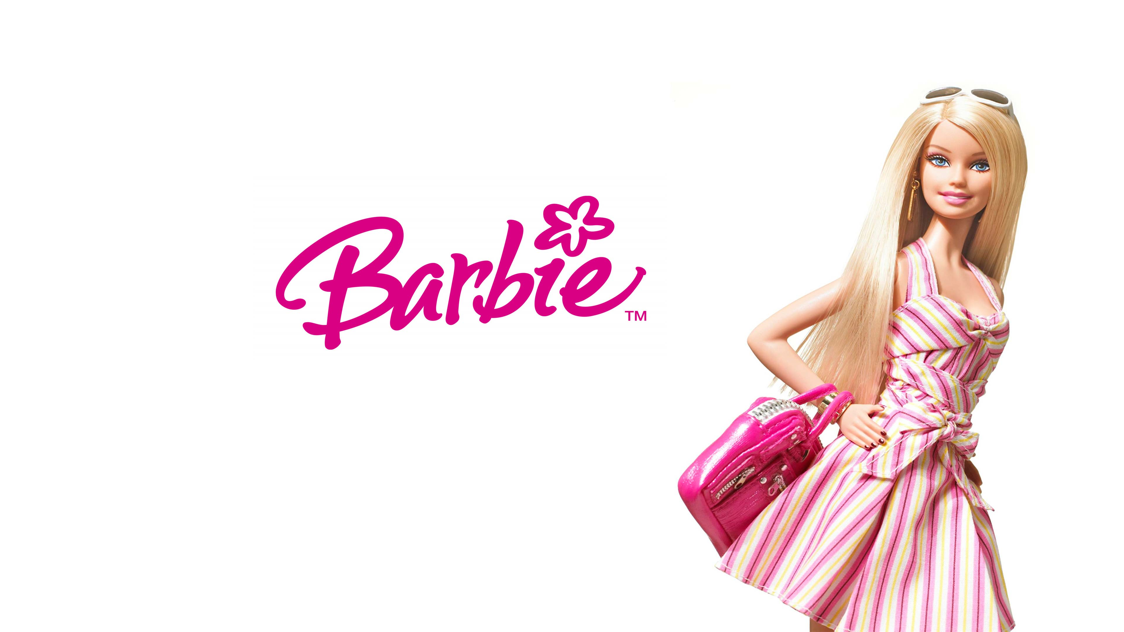 Barbie Doll Wallpaper HD Background 3840x2160