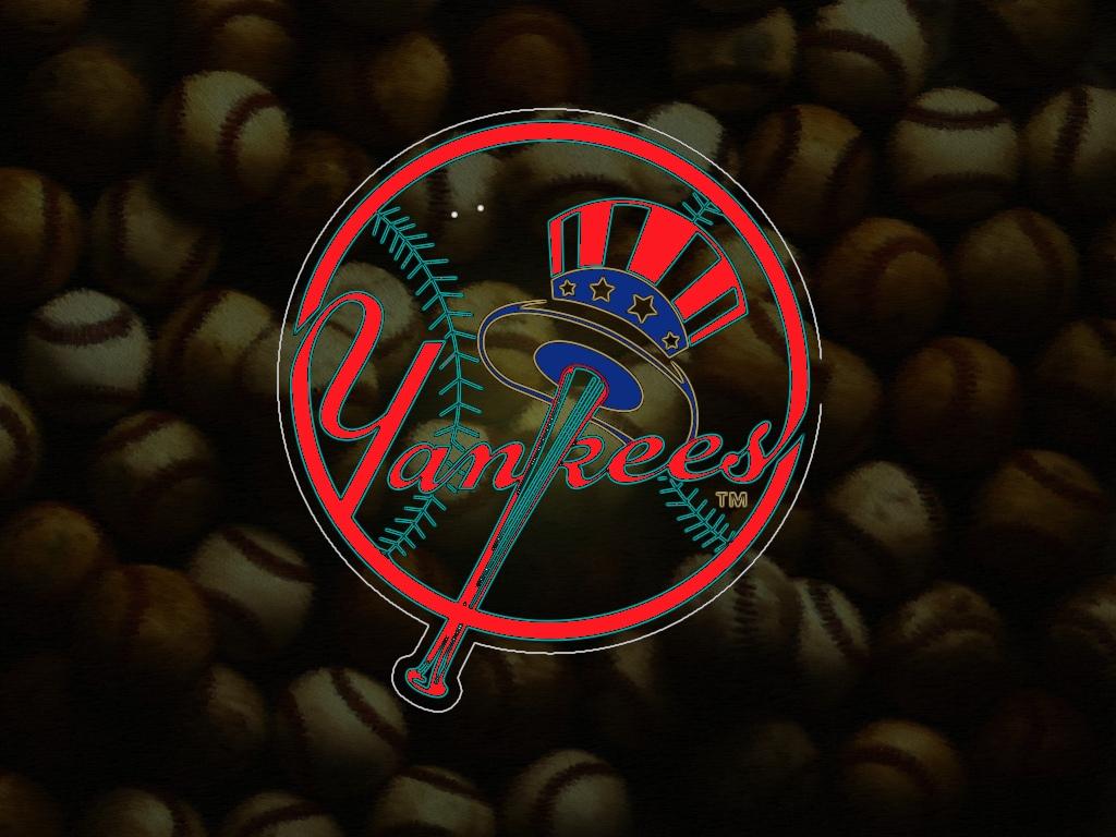 baseball logo wallaper   new york yankees logos 1024x768