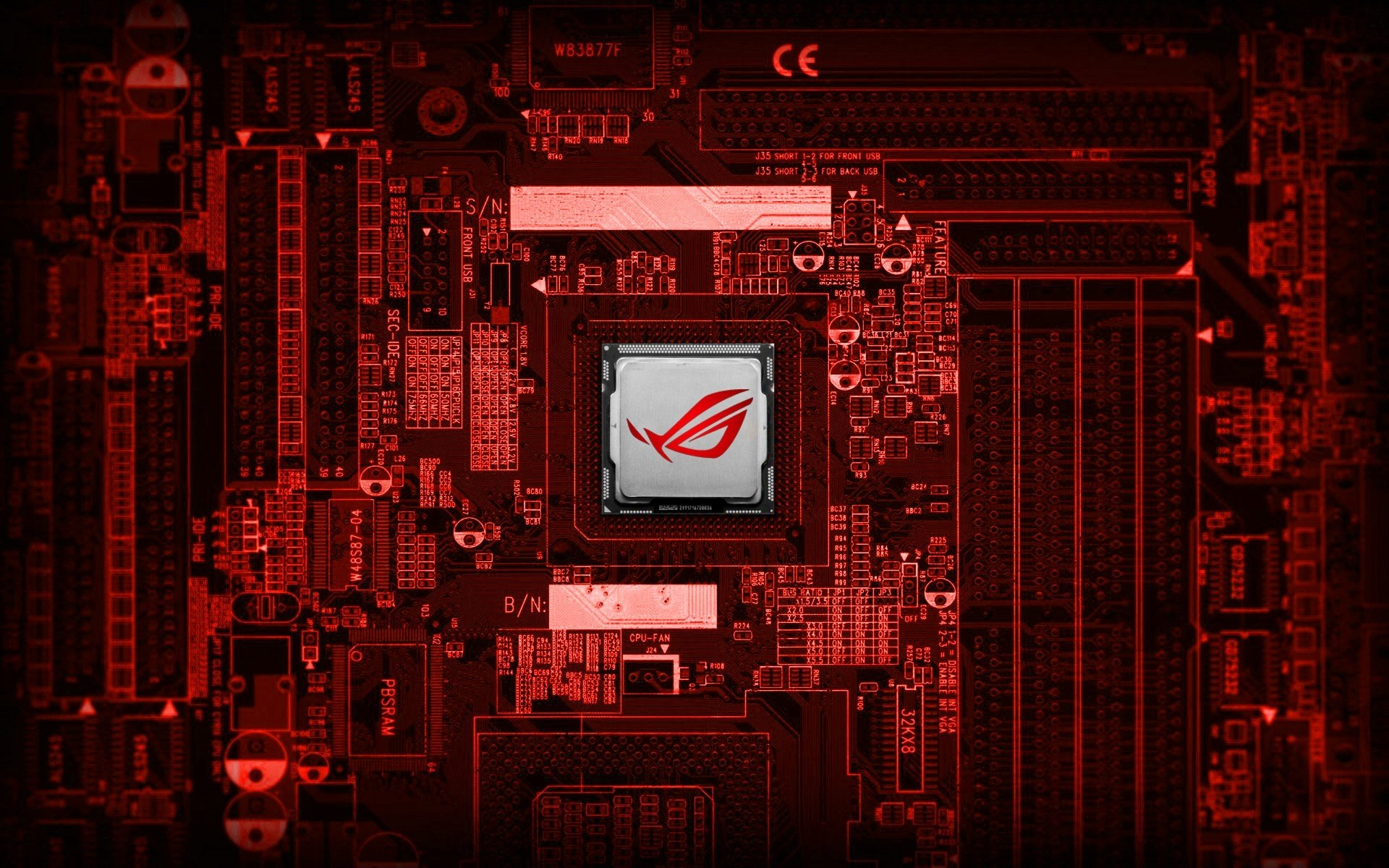 11 Motherboard HD Wallpapers Background Images 1920x1200