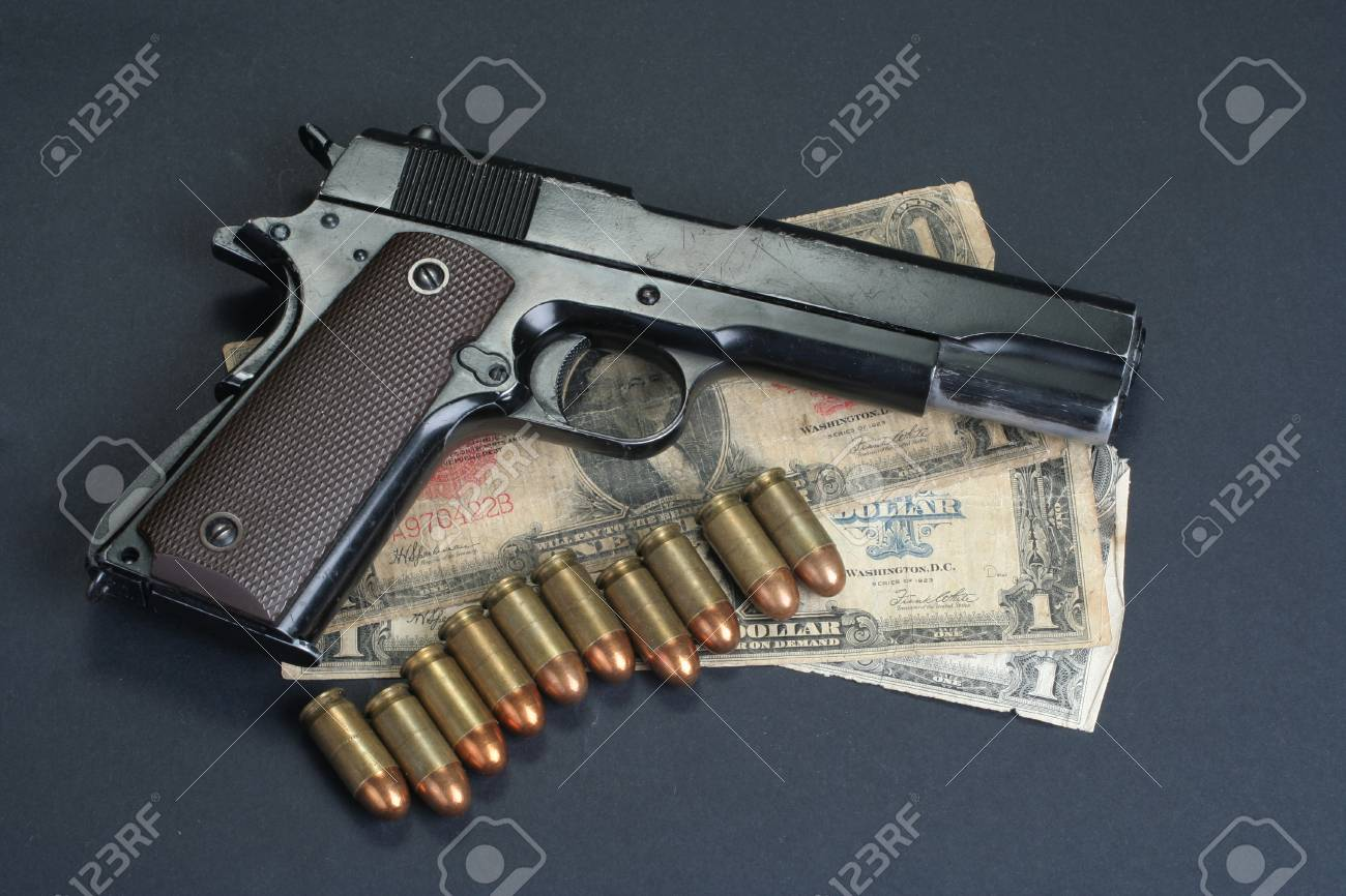 M1911 On Black Background Stock Photo Picture And Royalty 1300x866