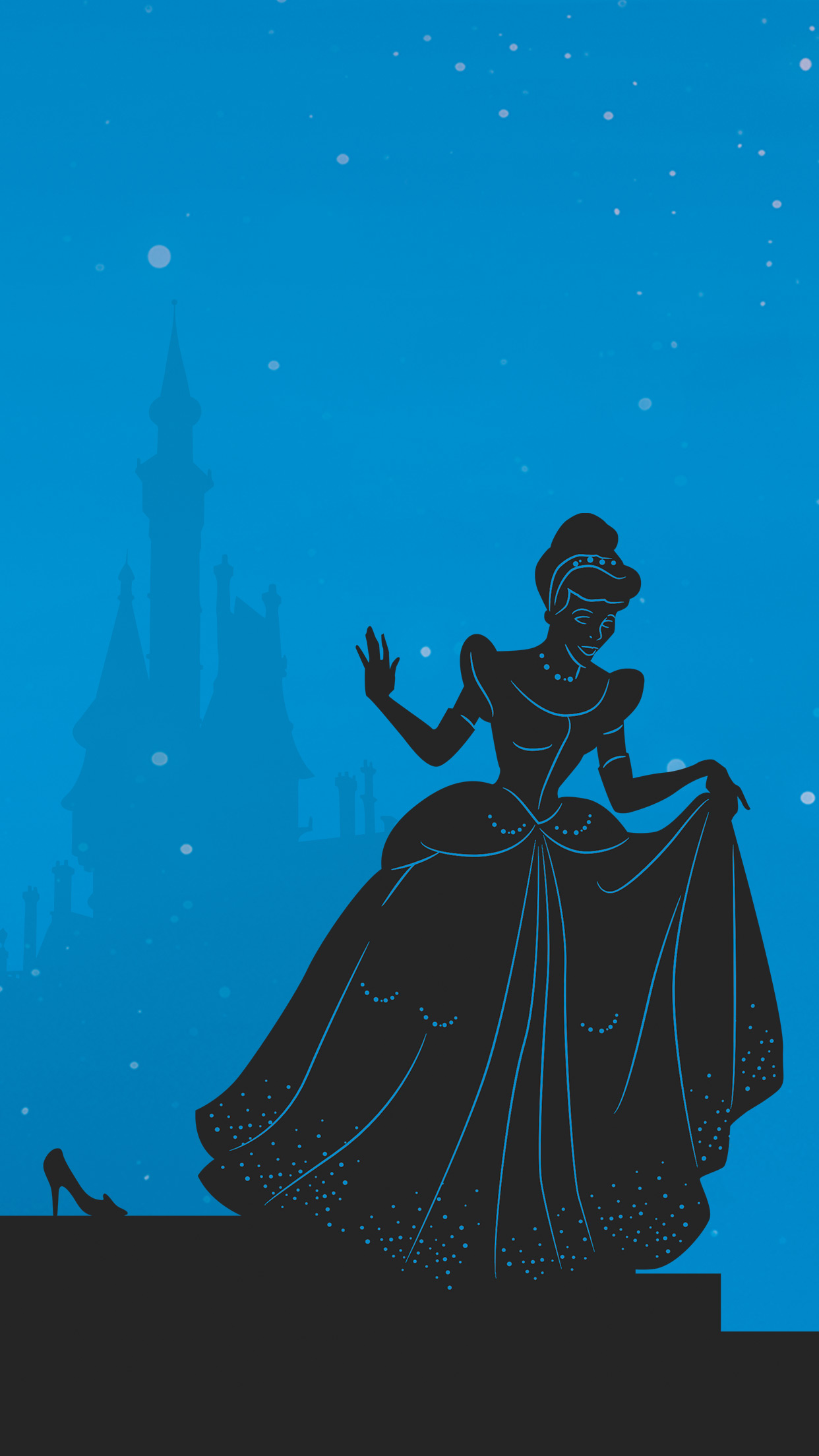 Free Download These Papercut Inspired Disney Princess Phone