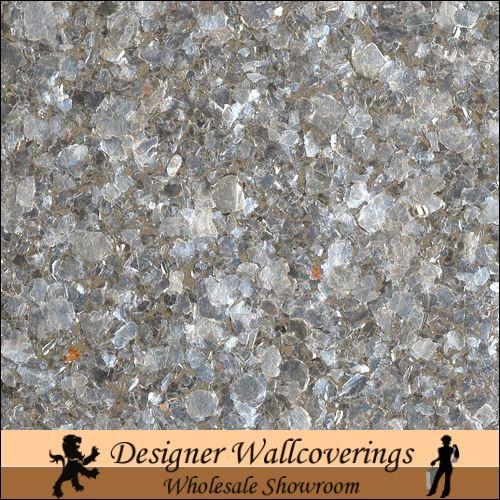 Hiya Mica   Silver [FXX   3218] Designer Wallcoverings 500x500