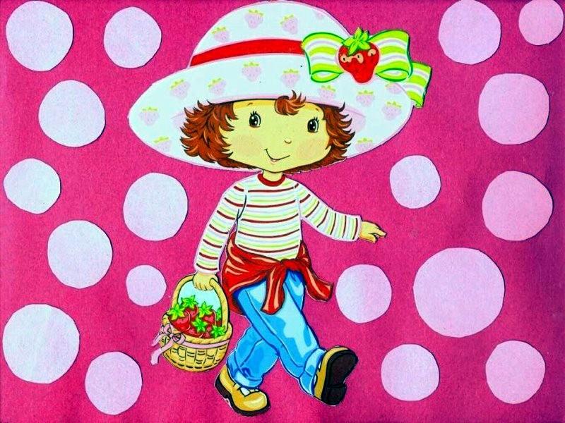 strawberry shortcake wallpaper strawberry shortcake wallpaper 800x600