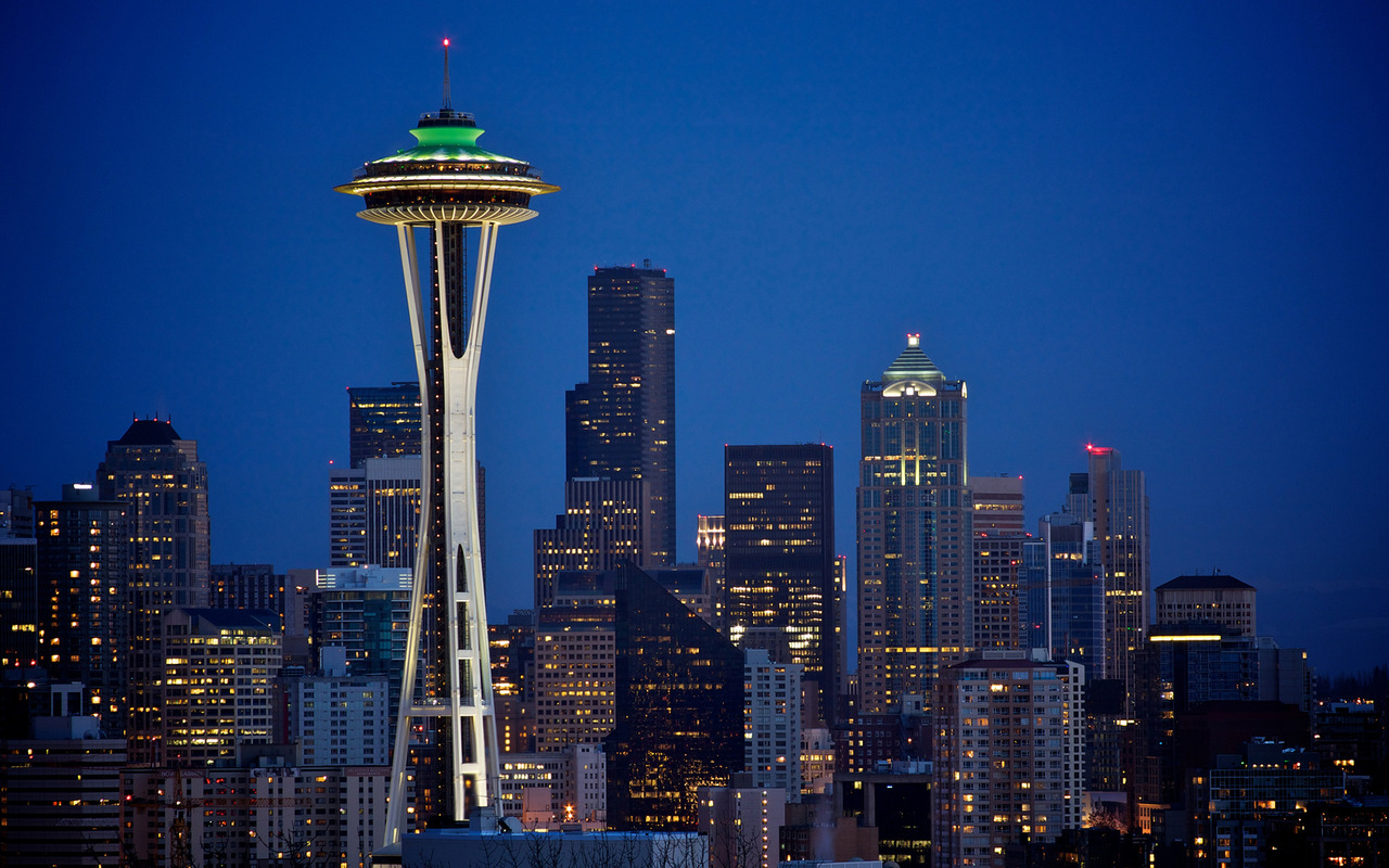 Space Needle   Seattle wallpaper 18280 1280x800