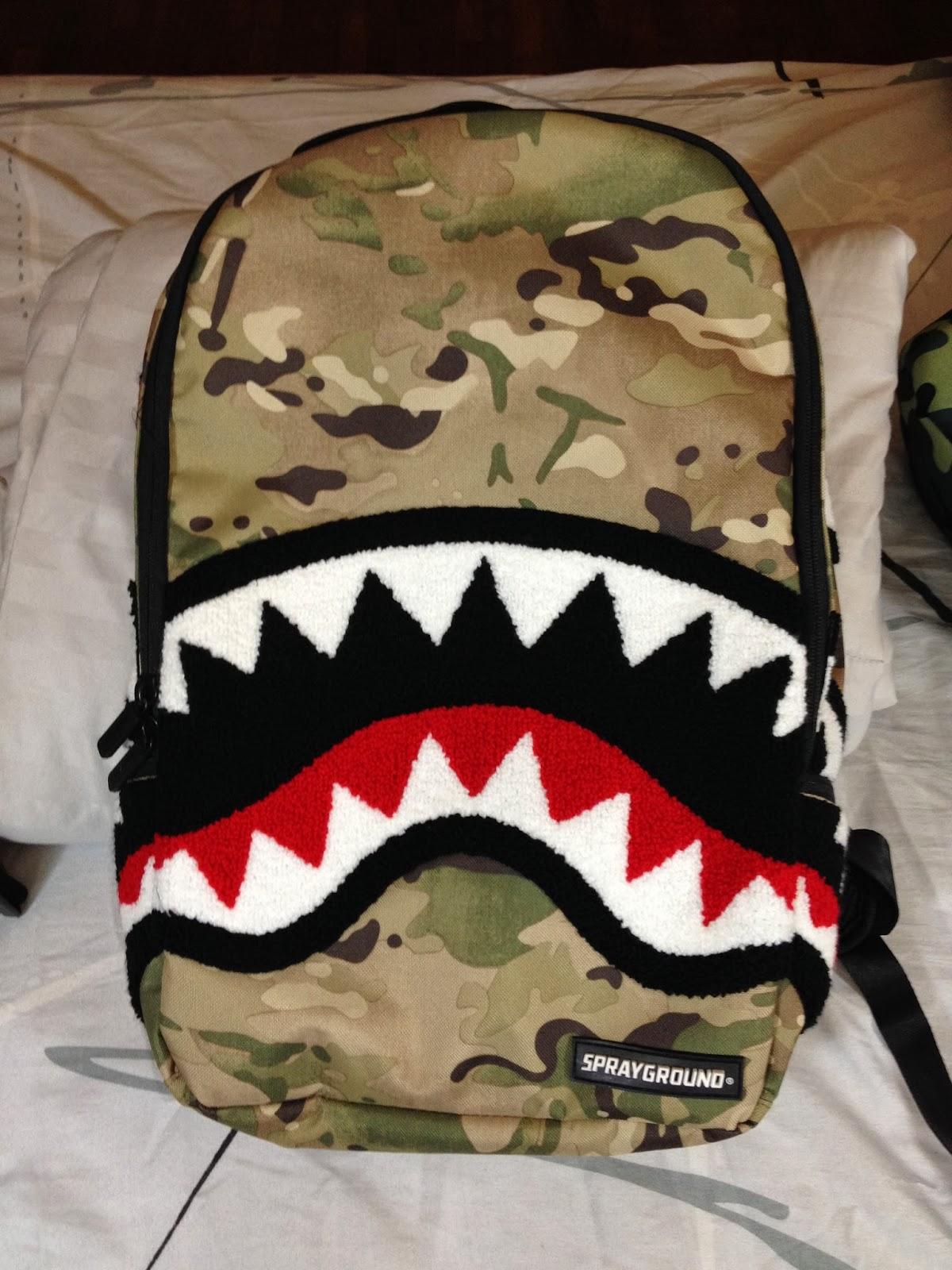 Bape Shark Wallpaper Multi camo shark backpack 1200x1600