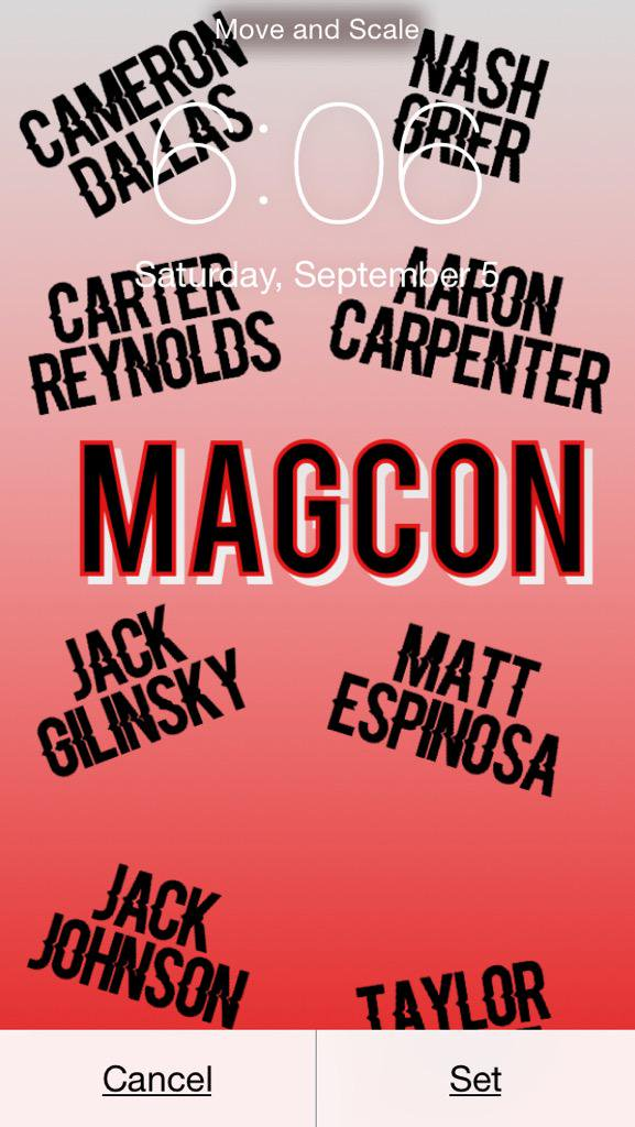 sorry on Twitter Old MagCon wallpaper RT If you want it 577x1024