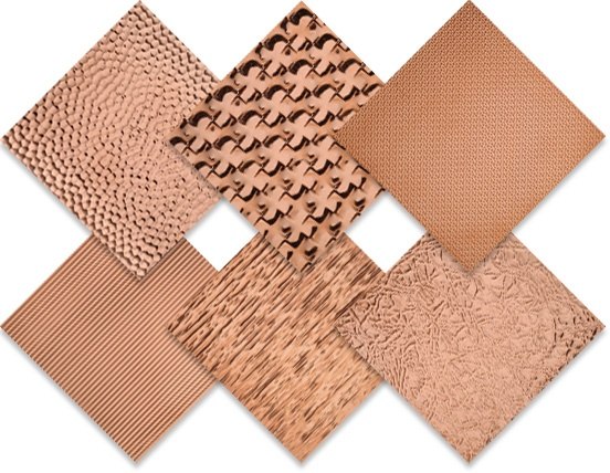 Hammered and Textured Copper Sample Pack 552x428