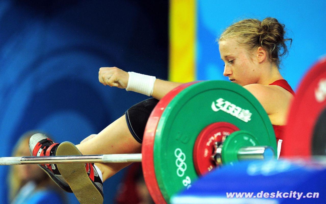 Beijing olympics weightlifting wallpaper 5 1024x768 wallpaper - Olympics Weightlifting Wallpaper Sports Wallpapers V3 Wallpaper
