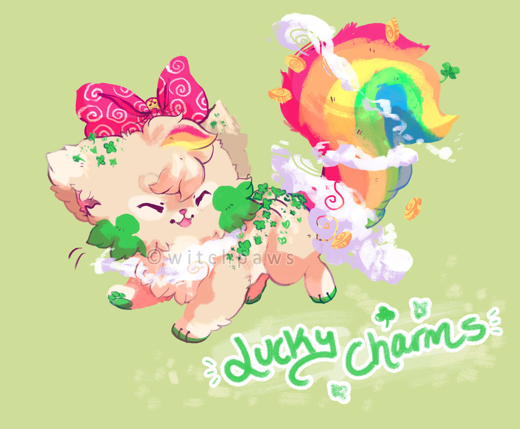 Lucky Charms Sushi Cat Auction CLOSED by witchpaws 1024x845