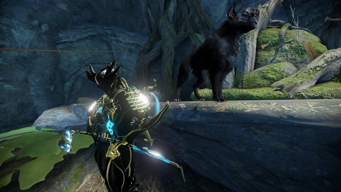 Warframe Loki Prime and Lotus Kubrow by NeroRedgrave 1191x670