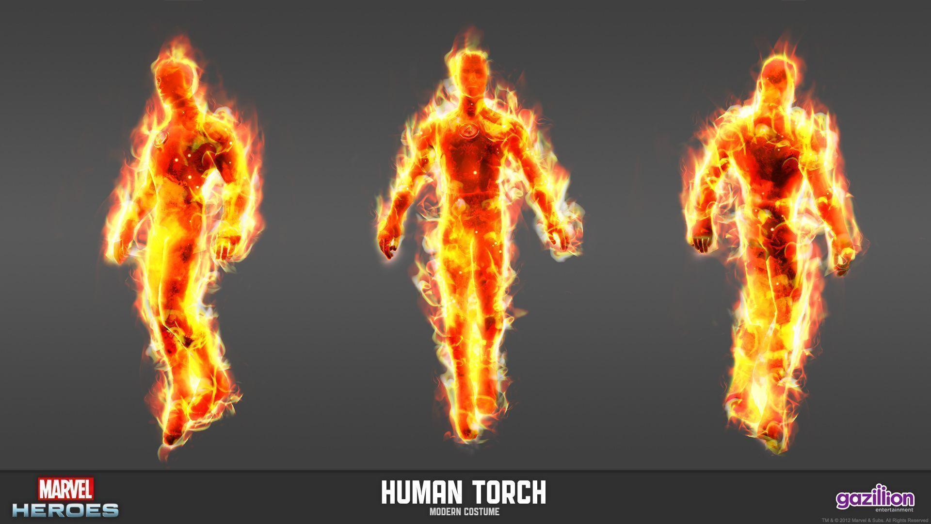Human Torch Wallpapers 1920x1080
