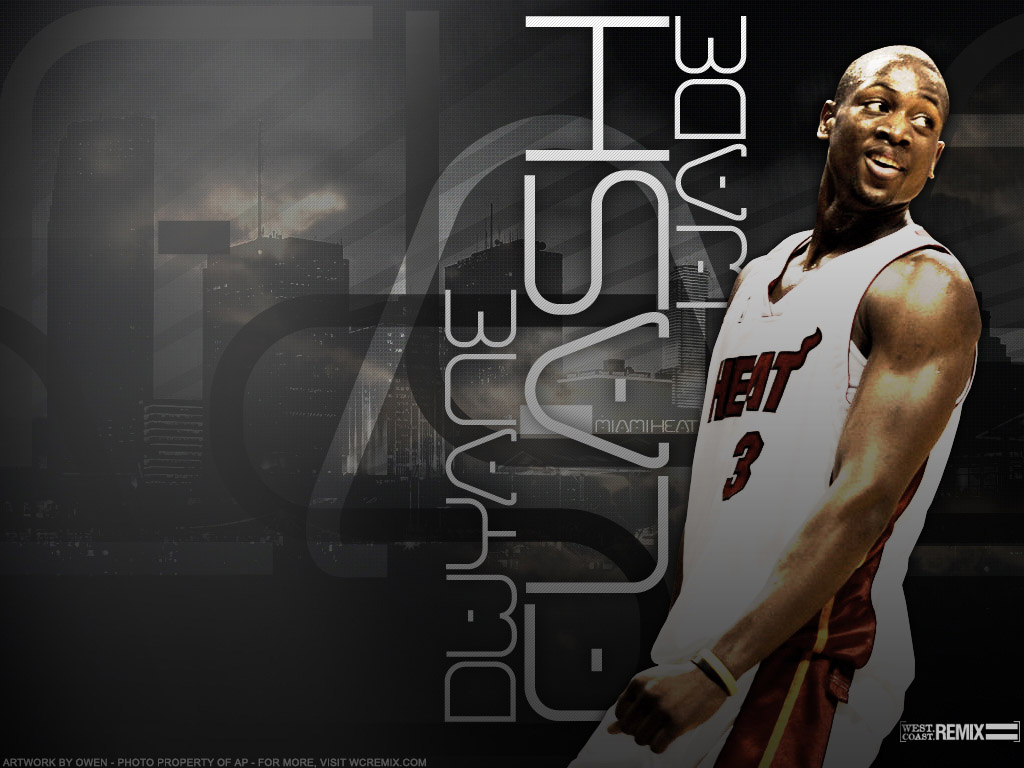 Wallpapers DWYANE WADE NBA TSEBA 1024x768