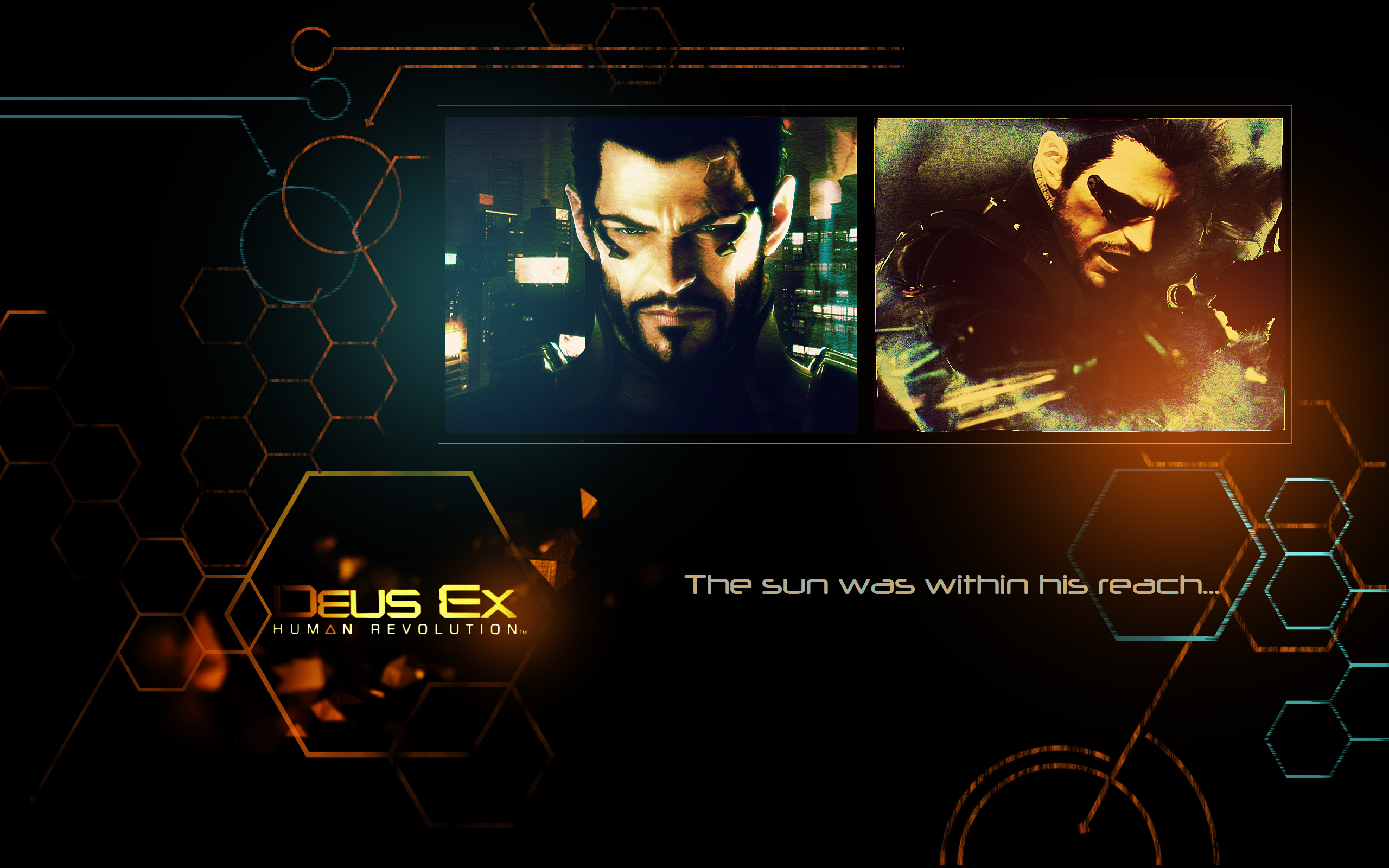 Deus Ex Human Revolution 2011 2560x1600