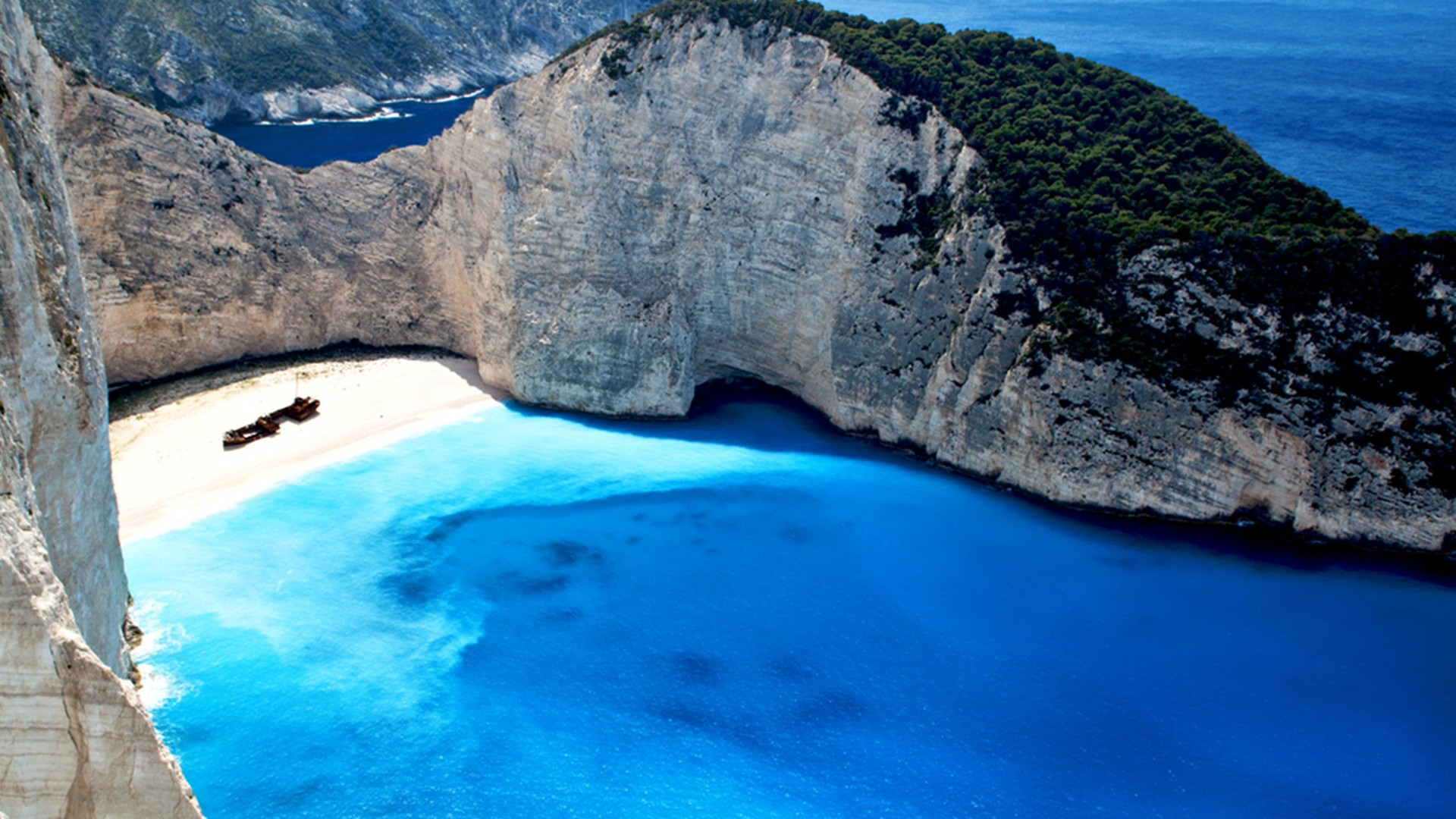 Blue Caves Zakynthos Island Greece Desktop Wallpaper 27152   Baltana 1920x1080