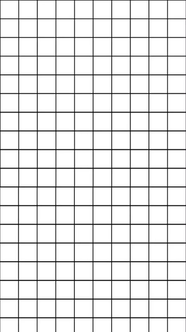 Black And White Wallpaper Grid 600x1068