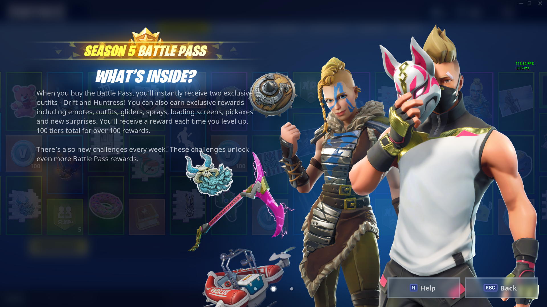 Fortnite Season 5 Battle Pass skins price details and more 1920x1080