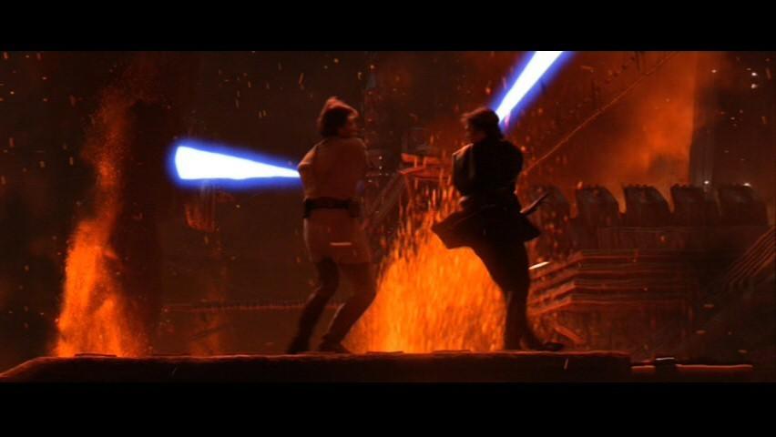 Free Download Obi Wan Kenobi And Anakin Skywalker Anakin Obi Wan Sw Ep Iii 852x480 For Your Desktop Mobile Tablet Explore 47 Obi Wan Vs Anakin Wallpaper Star Wars