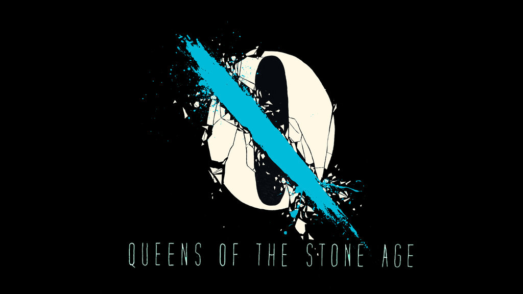 Free Download Queens Of The Stone Age Logo Wallpaper By
