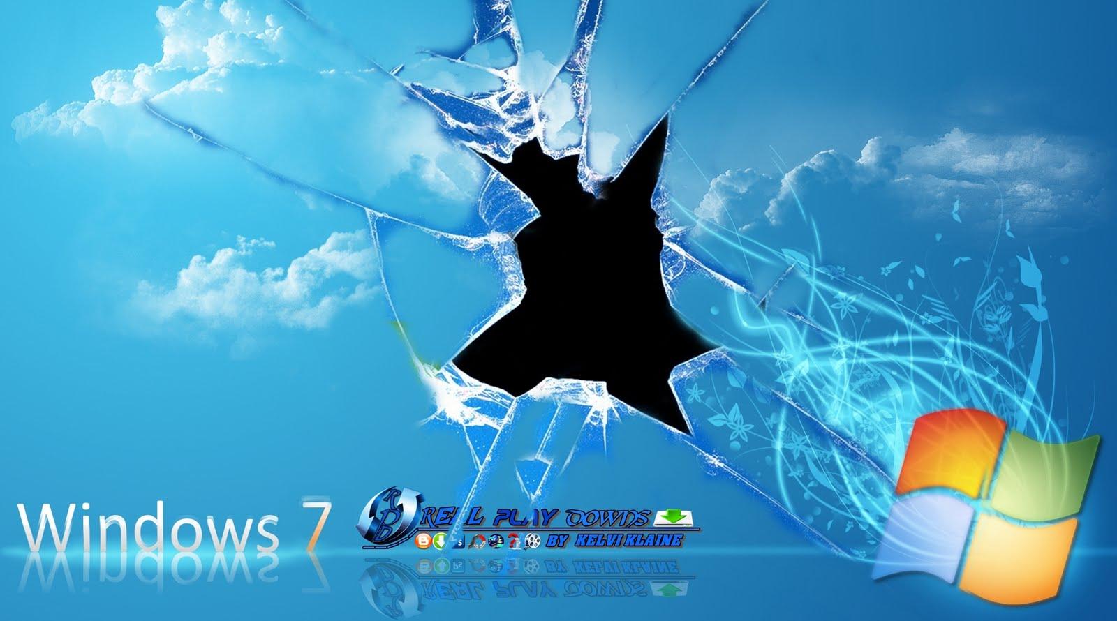 WALLPAPER Windows 7 HD QUEBRADO REAL PLAY DOWNS SUA VISITA O 1600x890