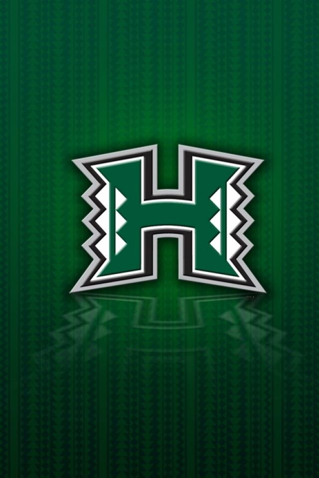 Hawaii University iPhone 4s Wallpaper 640x960