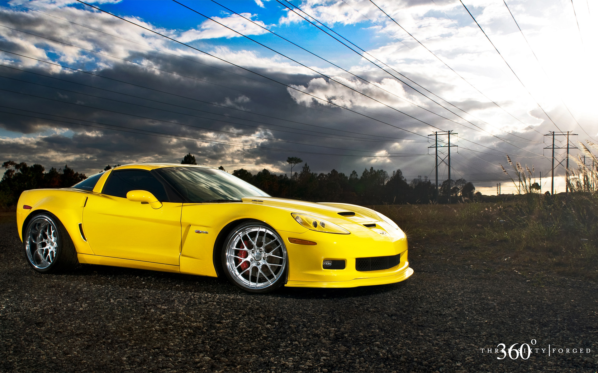 Corvette z06 wallpaper wallpapersafari - Corvette c6 wallpaper ...