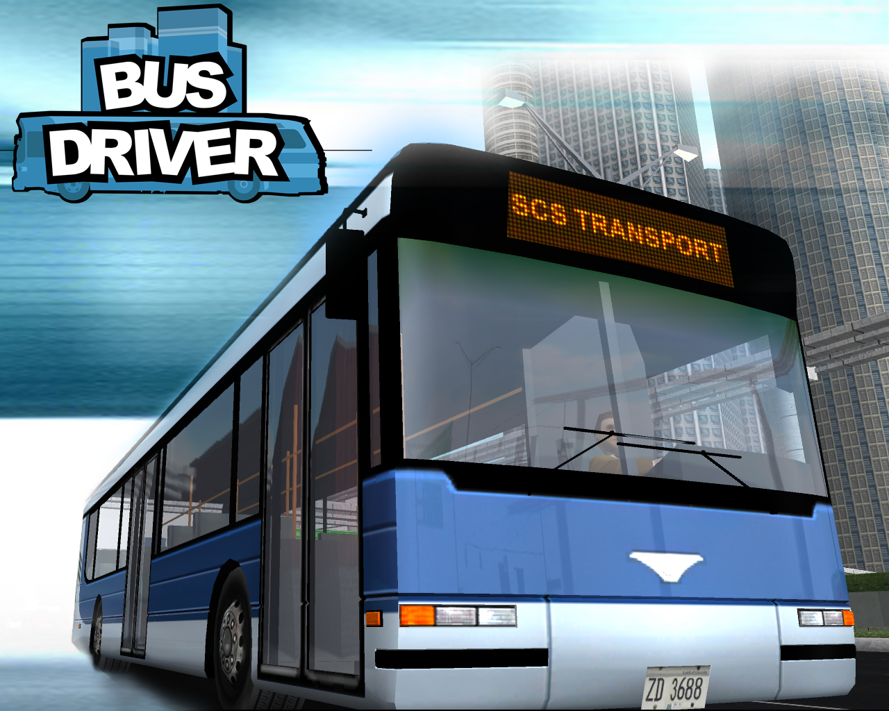 Bus Driver bus driving game   Wallpaper 1280x1024