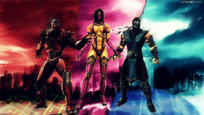 Mortal Kombat 9 Wallpaper Image Picture 1360x768