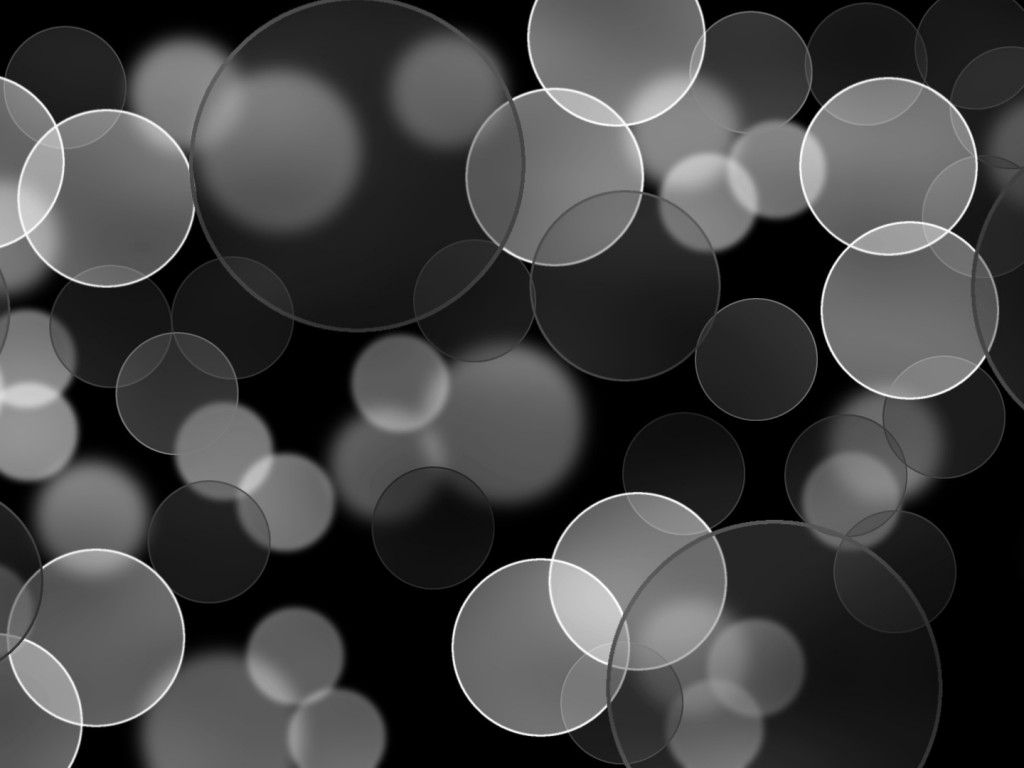 black and white bubbles powerpoint backgroundsjpg 1024x768