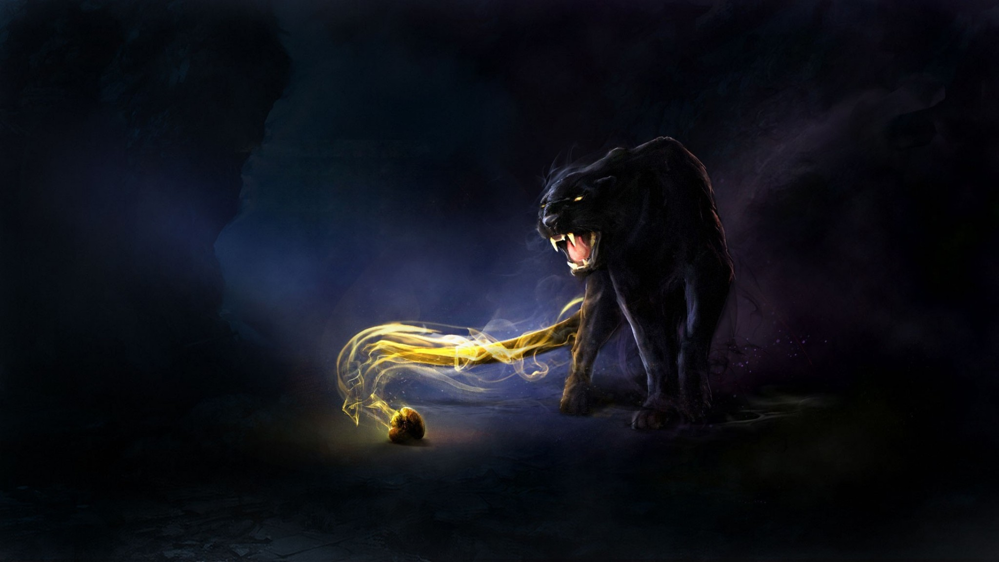 Panther Wallpapers Best Wallpapers 2048x1152