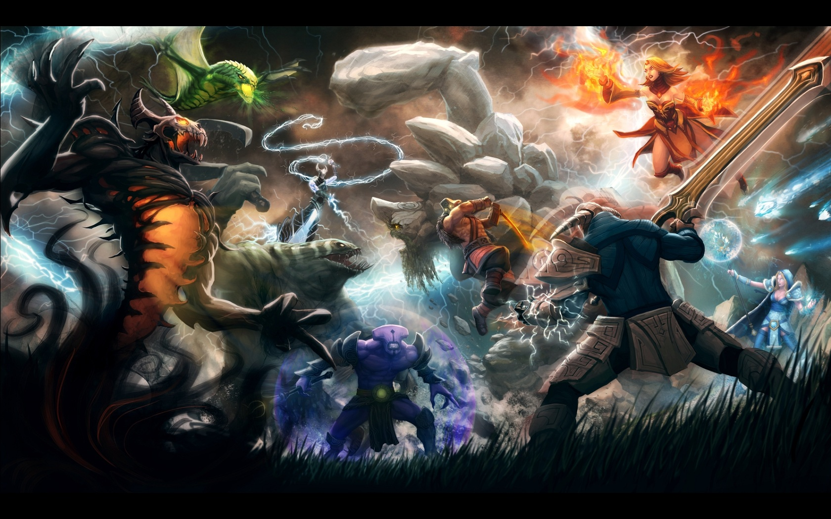 Epic Battle 1680x1050