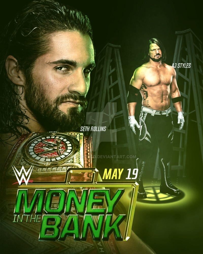WWE Money in the Bank 2019 by rodrigocd 800x999