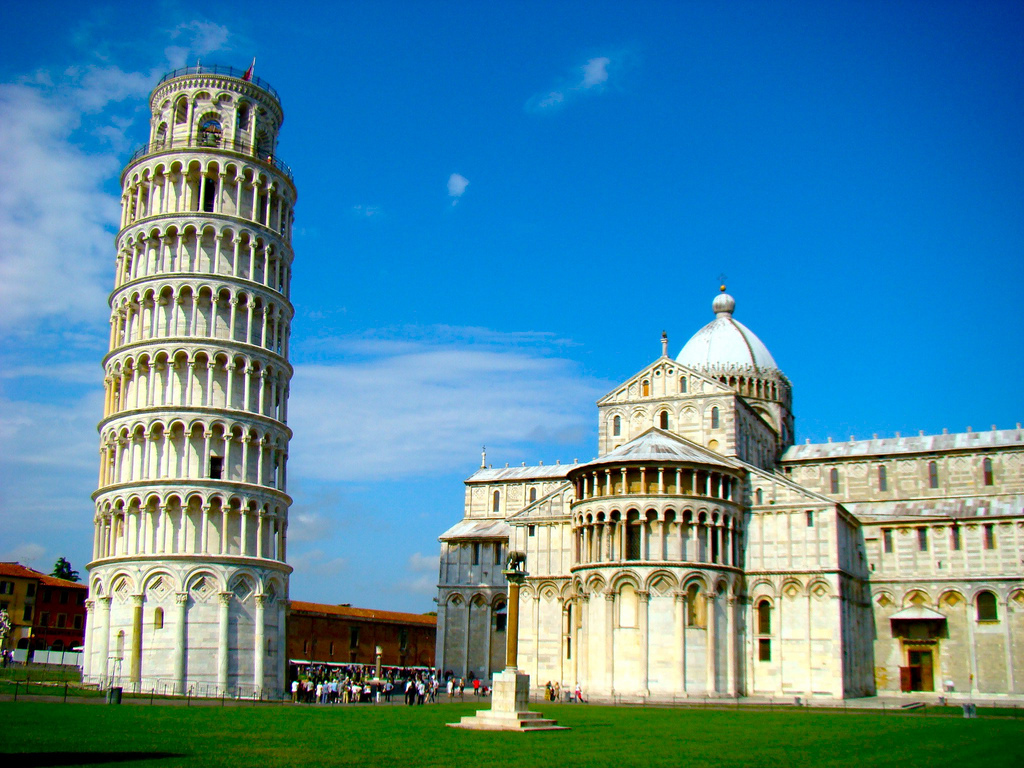 Desktop Wallpaper Pisa h518045 Travelling HD Images 1024x768