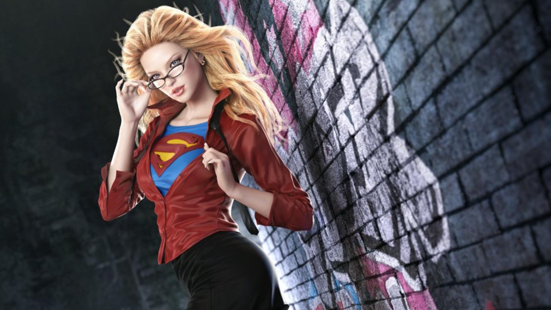 dark supergirl wallpaper - photo #22