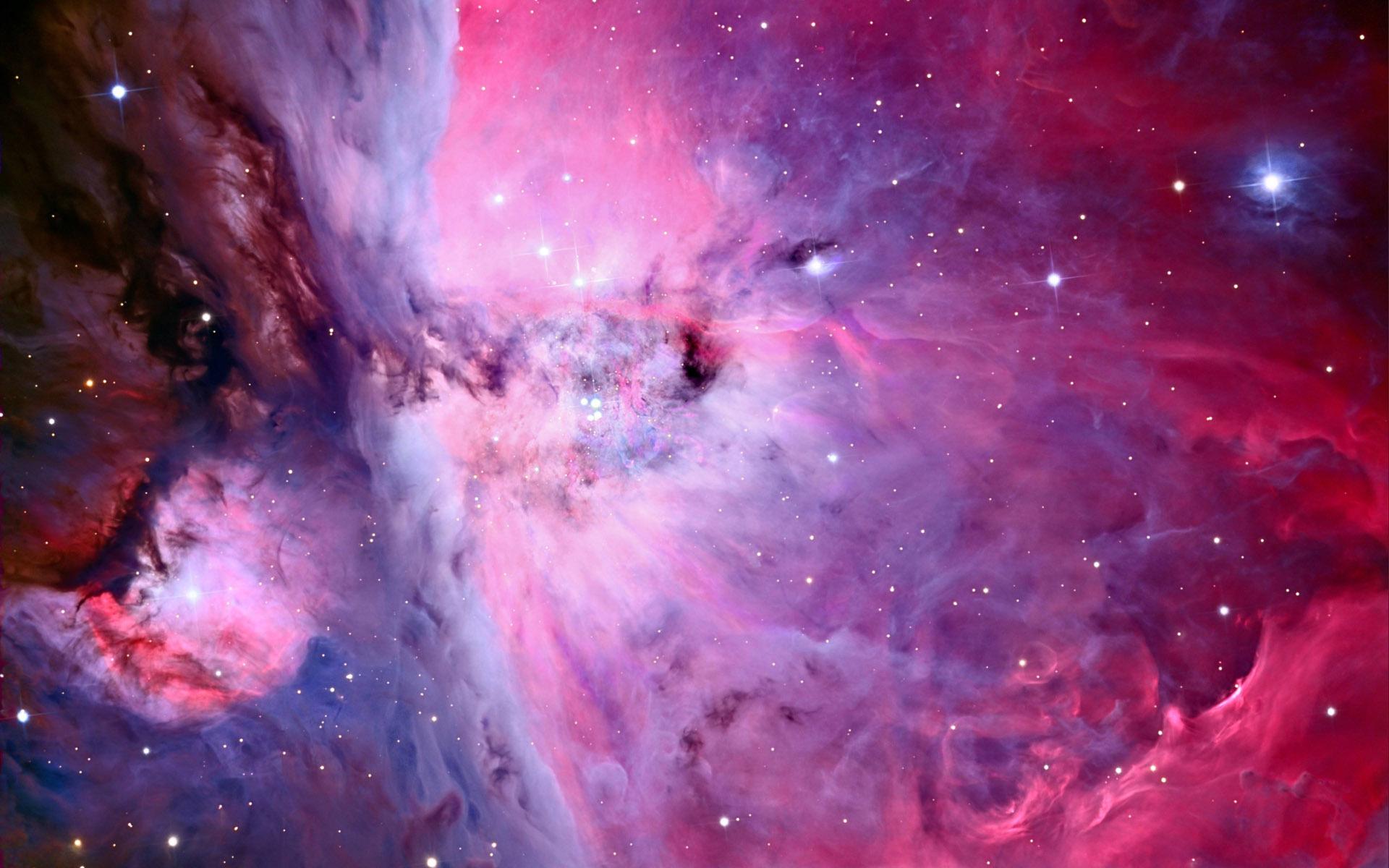 pink nebula galaxy space wallpaper - photo #12