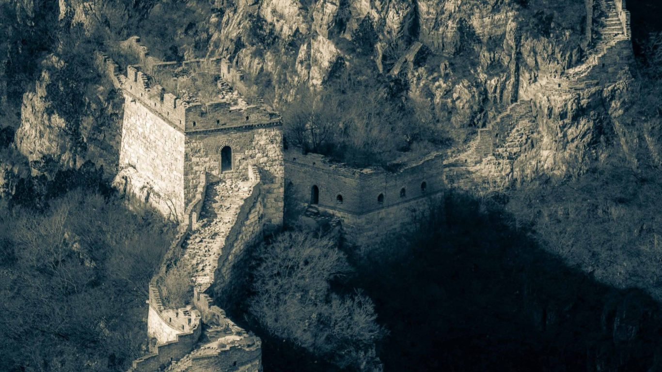 Broken Great Wall Of China Mac Wallpaper Download Mac 1366x768