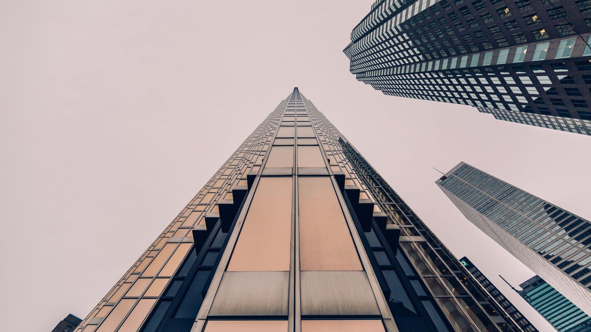 Sky High Buildings Wallpaper   Wallpaper Stream 1920x1080